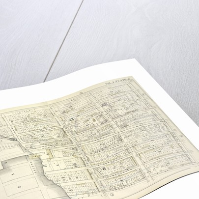 Map bound by Thirteenth St., Fifth Ave., Twentieth St., Gowanus Bay; Including Fourteenth St., Fifteenth St., Fifteenth St., Sixteenth St., Prospect Ave., Seventeenth St., Eighteenth St., Nineteenth St., Hamilton Ave., First Ave., Seco., New York by Anonymous
