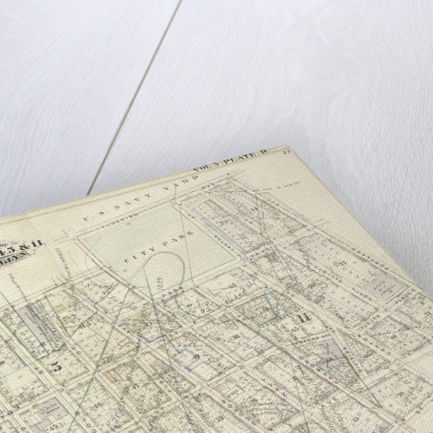 Map bound by Sands St., U.S. Navy Yard, Portland Ave., Myrtle Ave., Canton St., Bolivar St., Fleet Place, Pearl St., Concord St., Jay St; Including High St., Nassau St., Flushing Ave., Chapel St., Park Ave., Tillary St., Sycamore St., New York by Anonymous