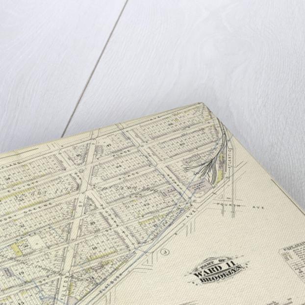 Map bound by Washington Park, Portland Ave., Atlantic Ave., Fourth Ave., Flatbush Ave., Fulton St., Fleet St., Fleet Pl., Bolivar St; Including Elliot Place, Canton St., Fort Greene Place, St. Felix St., Raymond St., Navy St., Hudson, New York by Anonymous