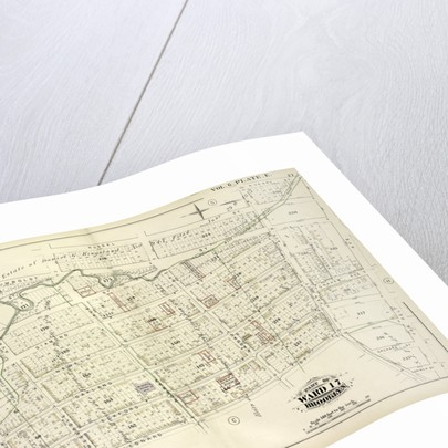 Map bound by Whale Creek Canal, Humboldt St., Norman Ave., Russell St., Van Cott Ave., N.Henry St., Van Pelt Ave., Lorimer St by Anonymous