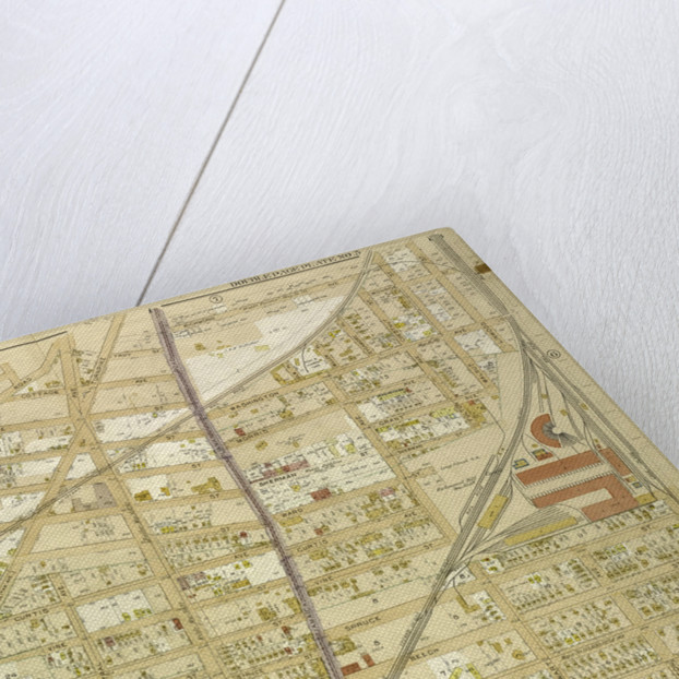 Map bounded by Newtown Road, Whitepot Road, Cottage Ave., New York by Anonymous