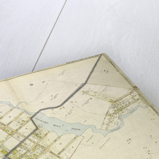 Map bounded by Flushing Bay, Beach St., Jackson Creek, Old Bowery Road, Astoria and Flushing Turnpike; Including Bowery Bay, Grand Boulevard, Sandford Point Ave., New York by Anonymous