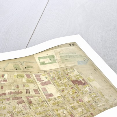 Map bounded by Meeker Ave., Scott Ave., Newtown Creek, Newel St., Meserole Ave., Franklin St., Greenpoint Ave., Milton St., Noble St; Including Oak St., Calyer St., Dobbin St., Guernsey St., Lori., New York by Anonymous