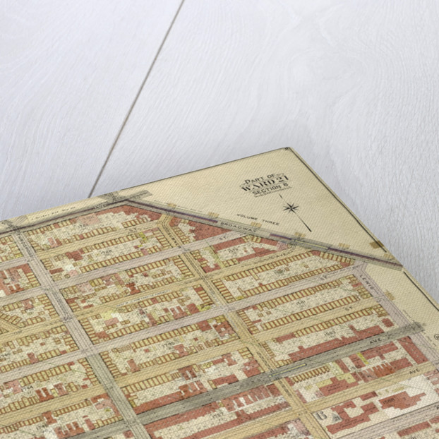 Map bounded by Flushing Ave., Broadway, Lewis Ave; IncludingHart St., Marcy Ave., New York by Anonymous