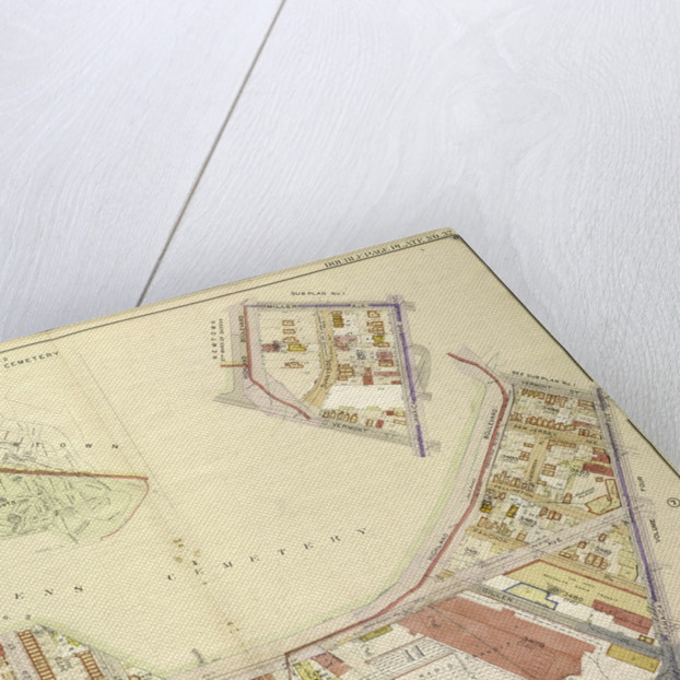 Map bounded by Highland Blvd., Mil., New York by Anonymous