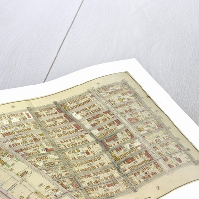 Map bounded by Ashford St., Liberty Ave., Bradford St., Jamaica Ave; Including Miller Ave., Highland Blvd., Warwick St., New York by Anonymous