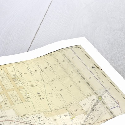 Map bounded by Avenue D, E. 51st St; Including Clenwood Road Avenue G, E. 40th St., New York by Anonymous