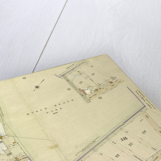 Map bounded by 7th Ave., 102nd St., Battery Ave., New York by Anonymous