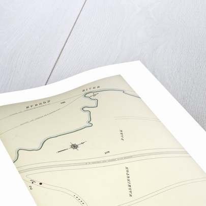 Map bounded by Hudson River, Riverside Drive, New York by Anonymous