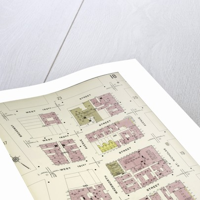 Map bounded by W. 183rd St., St. Nicholas Ave., W. 179th St., Broadway, New York by Anonymous
