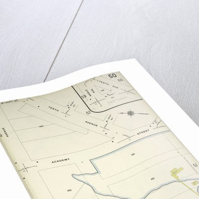 Map bounded by 10th Ave., Dyckman St., Nagle Ave., New York by Anonymous