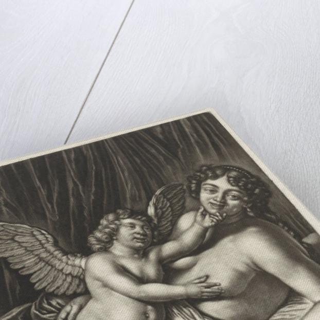 Venus and Amor by Hendrik Visjager