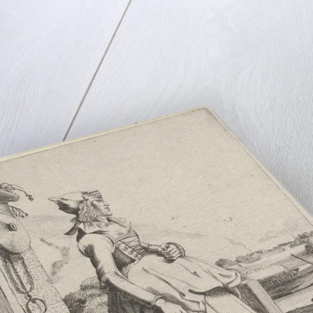 Girl from Hoorn, sideways by Clement de Jonghe