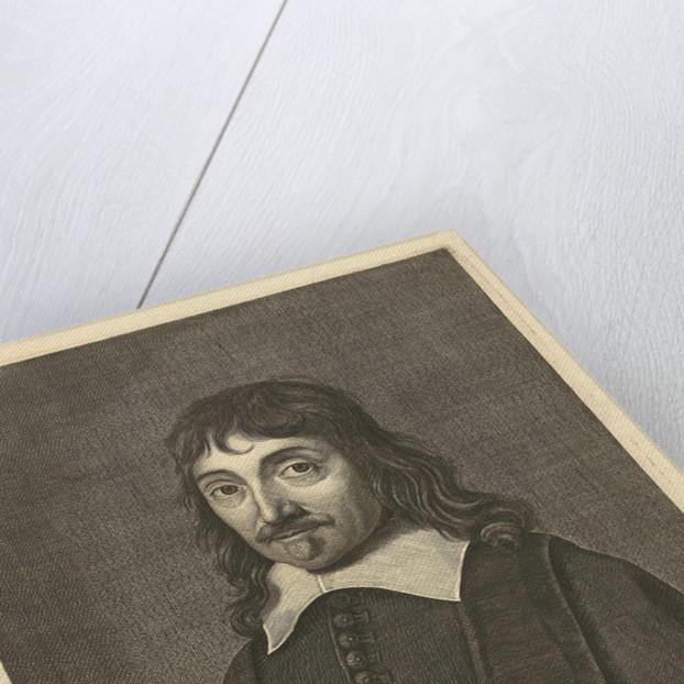 Portrait of René Descartes by Hugo Allard