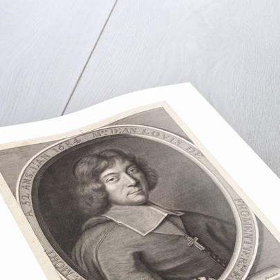Portrait of Jean Louis de Fromentières by Pieter van Schuppen