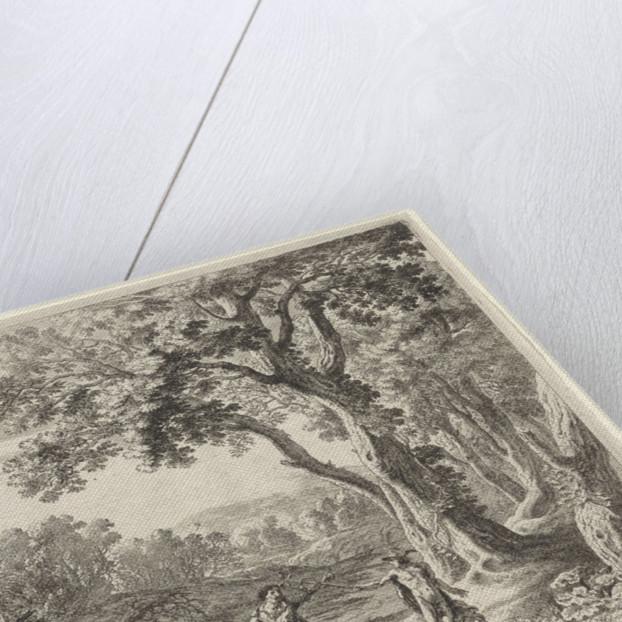 Batt Mercury turns into stone by Herman van Swanevelt