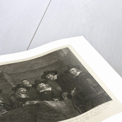 The Sampling Officials by Johannes Pieter de Frey