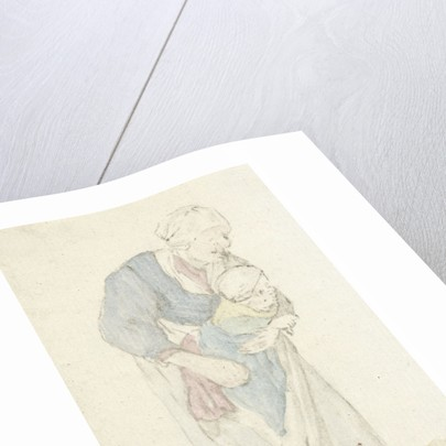Woman with child by Jurriaan Cootwijck