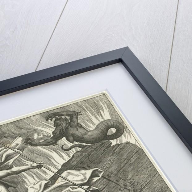 Christ in limbo by Adriaen Collaert