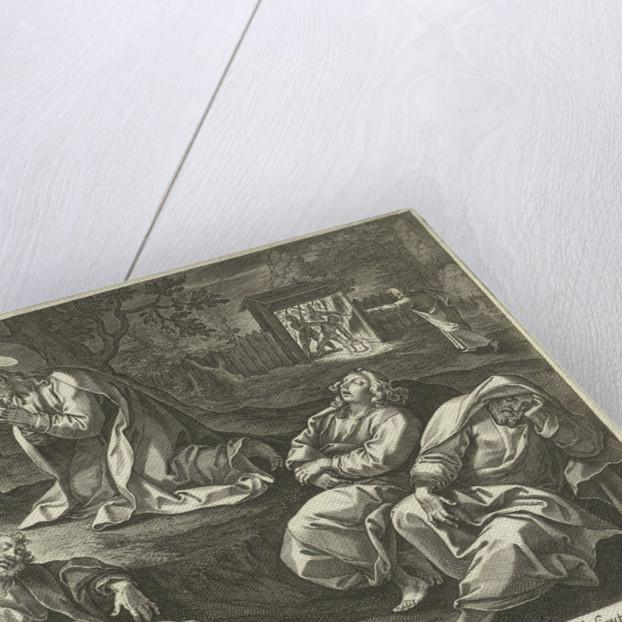Christ in the Garden of Olives by Adriaen Collaert