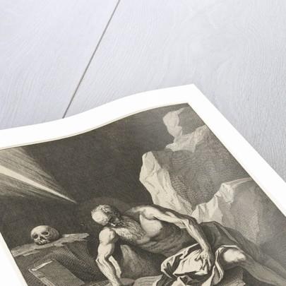 Jerome in a cave by David Teniers II