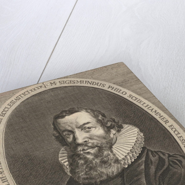 Portrait of Sigismund Philo Schelhammer by Hendrik Bary