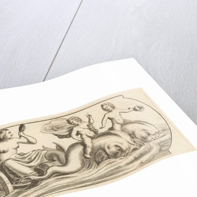 Amphitrite on a chariot by Justus Danckerts