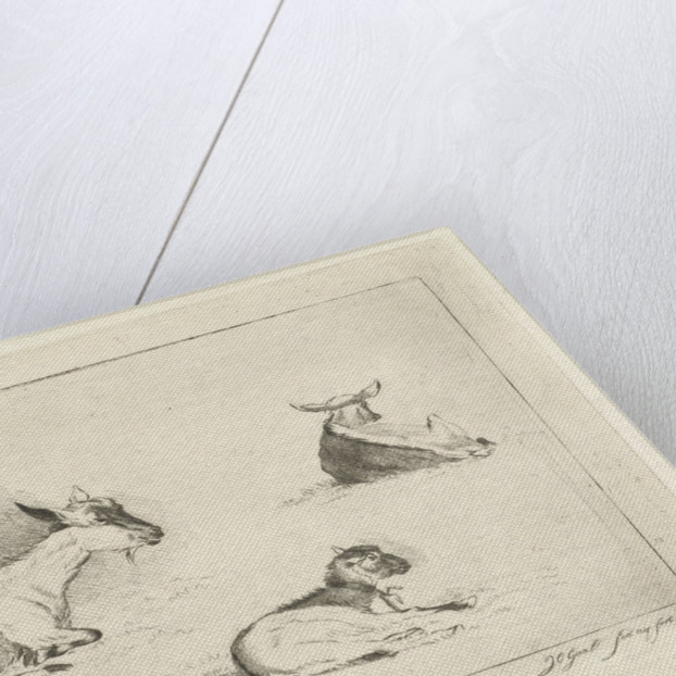 Three kids by Jacobus Cornelis Gaal