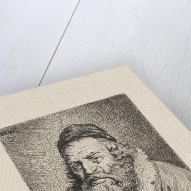 Portrait of Moses Edrehy by Pieter Christoffel Wonder