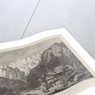 View of the Col du Géant, Chamonix-Mont-Blanc by Anonymous