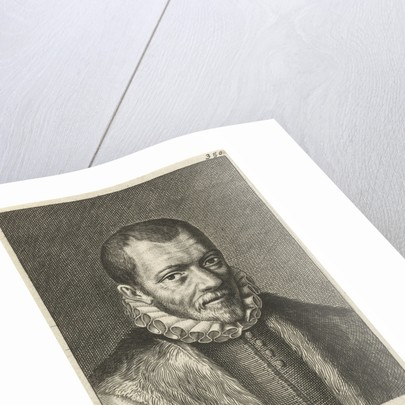 Portrait of Franciscus Junius (I). Hendrik Bary by Geeraert Brandt I