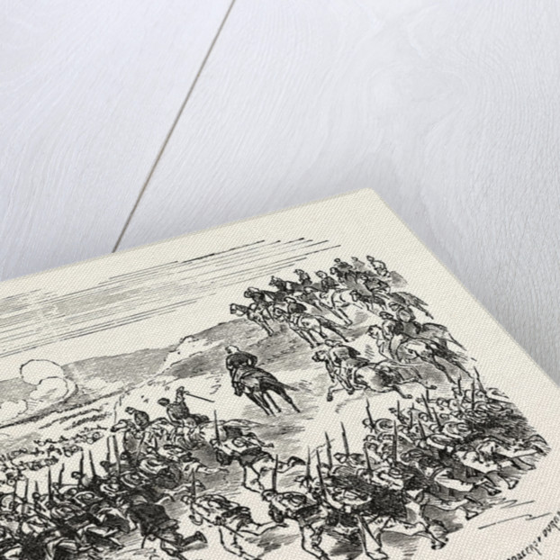Battle of Saarbrucken. Taking the City by the French, Germany by Anonymous