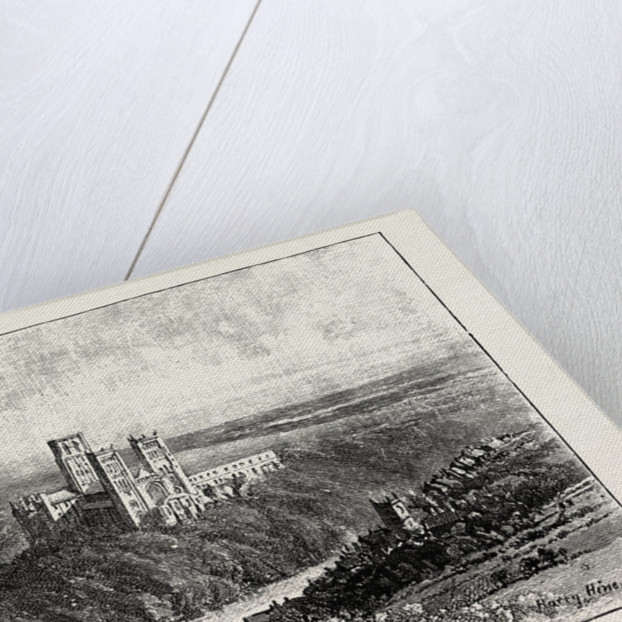 Distant View of Durham by Anonymous