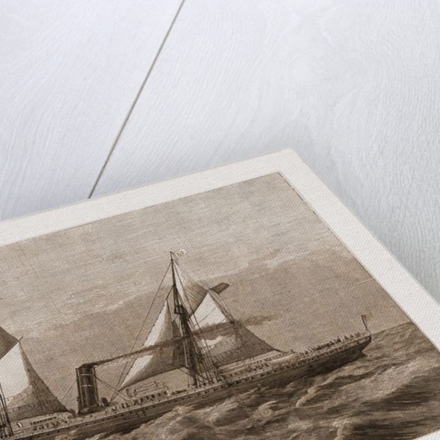The New Steam-ship Newport, of Ward's Havana Line by Antonio Jacobson