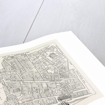Tower Street Ward, Map by Anonymous