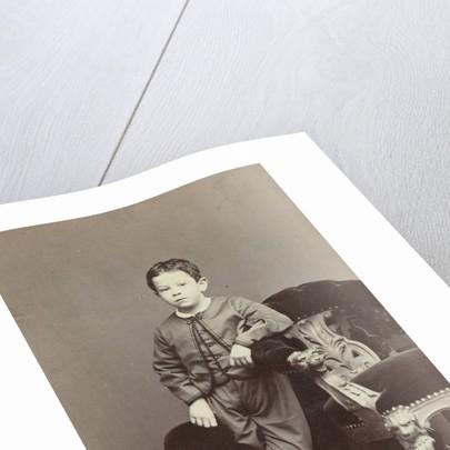 Portrait of a boy by C. Janssen & E. Radermacher