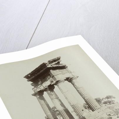Girgenti Tempio di Castore e Polluce by Giuseppe Incorpora