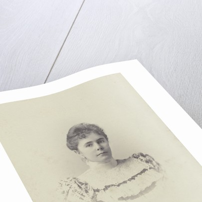 Portrait Charlotte Matthes-Doorman. Koene, c. 1890 - c. 1895 by Koene & Büttinghausen