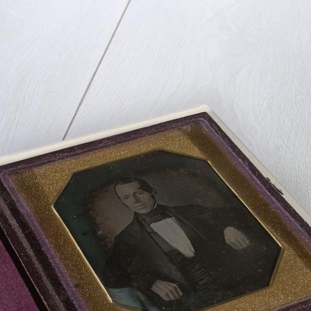 Portrait of Johannes Aegidius Lisman, acting governor Suriname by Anonymous