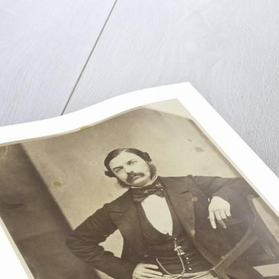 Portrait of Jacob Wertheim, son of the photographer by Eduard Isaac Asser