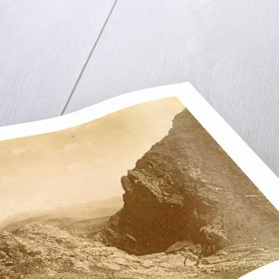 Gorge in Elboersgebergte in Persia by Antoine Sevruguin