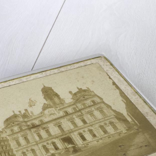 Building in Paris, France by Henri Plaut