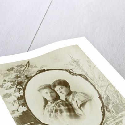 Double portrait of two women by Pierre Koekkoek