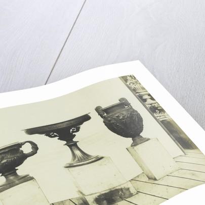 Cast Iron Vases by C.M. Ferrier & F. von Martens