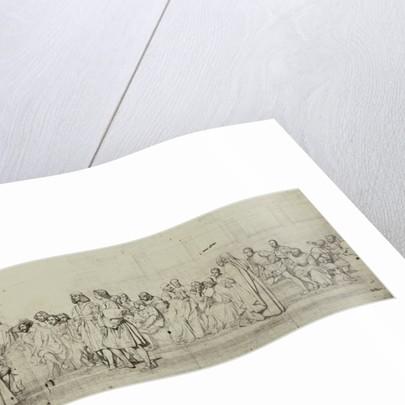 Cartons de l'hemicycle du Palais des Beaux-Arts by Paul Delaroche