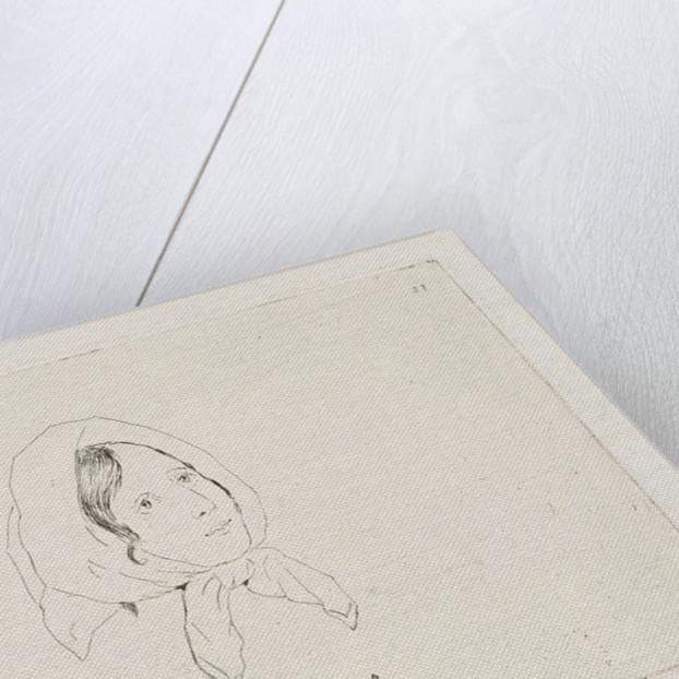 Marie Villasèque by Louis Charles Hora Siccama