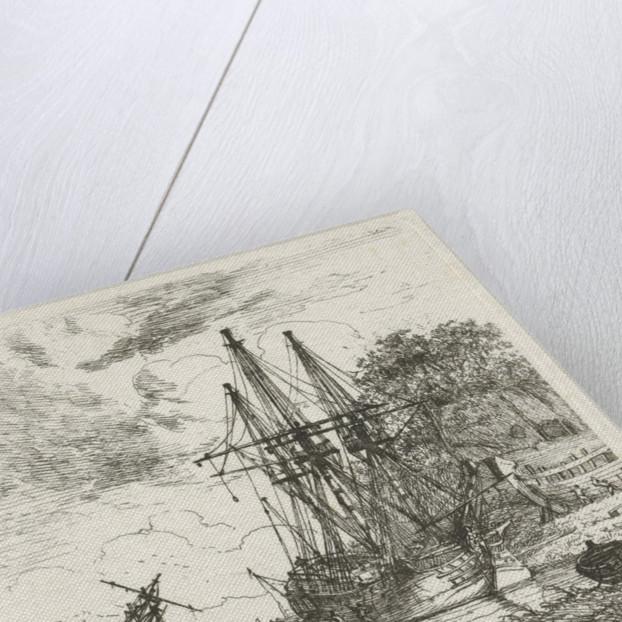 Shipyard by Hendrik Kobell