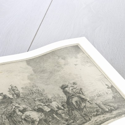 Falconry by Hendrik Frans van Lint