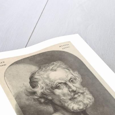 Portrait Bust of John Lutma de Oude by Johannes Lutma II