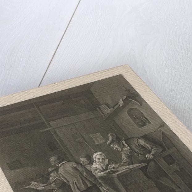 Class Room with a teacher and children by Noach van der Meer II